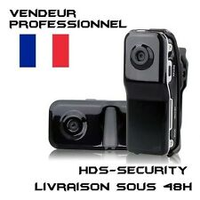 MINI DV MD80 CAMERA SPORT EMBARQUEE 32 GO MAX DETECTION SONORE WEBCAM ESPION VTT