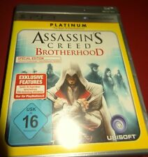 ASSASSIN´S CREED BROTHERHOOD Playstation 3, PS3 Spiel Bluray Disc Platinum