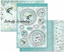 Hummingbird Love In The Air Card Making Kit Paper Crafting HUNKYDORY SHIM906 New