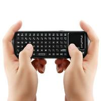 iPazzPort Handheld 19 Mini 2.4G Wireless Keyboard with Touchpad for PC Laptop