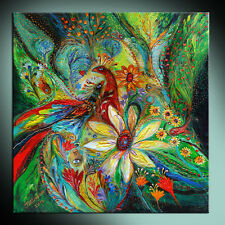 Ode to my flowers: high quality ready to hang canvas print from original artwork