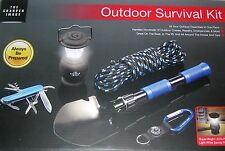 The Sharper Image Outdoor Survival Kit 5 pc. Camping Boat RV Home.NIB