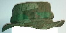 RECCE Hat  Boonie     Swiss M38/40 - Splinter  Camo      - Made in Germany -