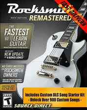 Rocksmith 2014 Remastered (PC) +Custom DLC Song Starter Kit Steam No Cable or CD