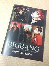 BIG BANG BIGBANG GDRAGON TOP GD TAEYANG DAESUNG SEUNGRI COLLECTION PHOTOBOOK