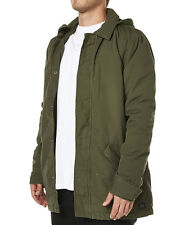 Men's BILLABONG Venture Khaki Winter Jacket Anorak, Size 2XL. NWT, RRP $169.99.