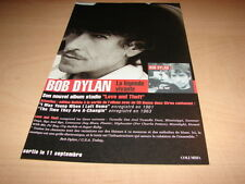 BOB DYLAN - LOVE AND THEFT!!!!!!!!!! PUBLICITE / ADVERT