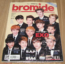 BROMIDE EXO TVXQ B1A4 B.A.P GIRL'S DAY RAIN K-POP MAGAZINE 2014 FEB FEBRUARY NEW