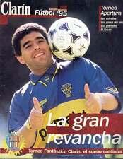 DIEGO MARADONA Returns to Boca Juniors RARE Magazine 1995