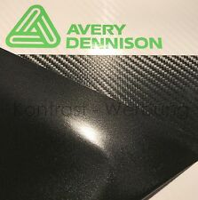 Avery Dennison SWF Carbon Car Wrapping Folie 200 x 1520 mm Profi Qualität