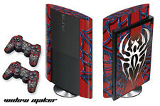 Skin Decal Wrap for PS3 Playstation Gaming Console Controller 3 Super Slim Widow