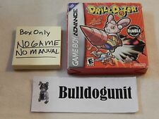 Drill Dozer BOX ONLY Gameboy Advance NO GAME GBA Drilldozer
