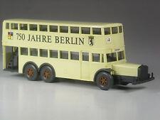 Sonderpreis: Wiking alter D38 Berlin BVG Doppeldecker Bus 750 Jahre