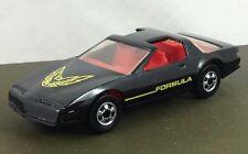 Vintage 1982 Hot Wheels Black Pontiac Firebird Formula T Top  Die Cast MALAYSIA