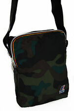 Borsa tracolla richiudibile bag K-WAY art. 6AKK1333 MED AMMO col. A1 CAMOUFLAGE