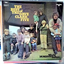 THE DAVE CLARK FIVE LP THE BEST OF UK REISSUE VG++/EX