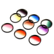 58mm Graduated Color Lens Filter Kit for Canon Rebel T6i T5i T4i T3i T2i T1i XSi