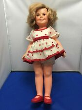 """1972 IDEAL SHIRLRY TEMPLE DOLL VINYL DOLL  16"""""""