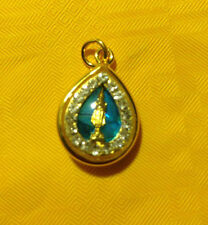 QUALITY Authentic Thai Buddhist Amulet Gift Pendant Good Luck Love &Protection H