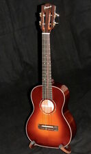 PONO MTSH-PC SOLID SPRUCE TOP SUNBURST TENOR UKULELE WITH HARDSHELL CASE