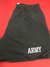 ONE PAIR US ARMY PFU Fitness Trunks PT Shorts Extra Large