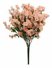 12 Baby's Breath ~ BEIGE ~ Gypsophila Silk Wedding Flowers Centerpieces Filler