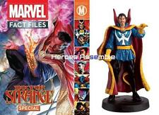 MARVEL FACT FILES DOCTOR STRANGE SPECIAL MAGAZINE & FIGURINE DR EAGLEMOSS MARVEL