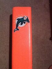 Miami Dolphins Vintage Logo touchdown pylon with embroidered patch