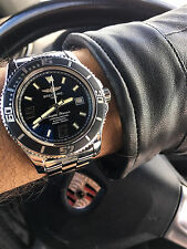 Breitling Superocean A17391 Stainless Steel Automatic Black Men's Watch w/Box