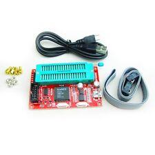 51 Microcontroller Programmer USB burner support AT89C52 24C02 93C46 SP200SE