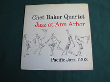 Chet Baker Quartet Jazz at  Ann Arbor lp Original, Rare