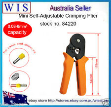 0.08-6mm² Self-adjusting Ferrule Crimper,Crimping Plier for End Sleeves Tool