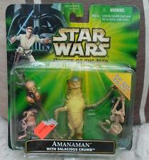 KENNER TOYS STAR WARS AMANAMAN  Power of force NEW  figures hot Salacious