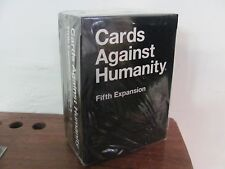 Cards Against Humanity  Fifth Expansion 5 5th 112 CARD PARTY GAME  (NEW SEALED)