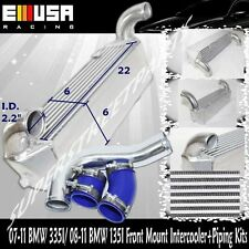 FMIC Intercooler+Piping for 07-11 BMW 335i Base Sedan/Coupe/Convertible 2D 2.5""