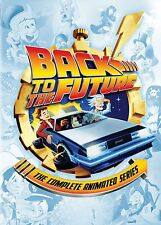 Back to the Future Complete Animated Series DVD Set Episodes Cartoon TV Show Box