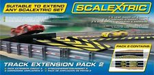 Scalextric C8511 Track Extension Pack 2 Leap/Straight/Side Swipe 1:32