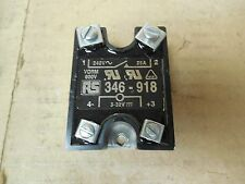 RS Solid State Relay 346-918 346918 32V 240 VAC 25 A Amp Used