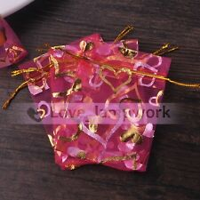 Wholesale Gauze Organza Jewelry Candy Packing Pouch Wedding Favor Gift Pouch Bag