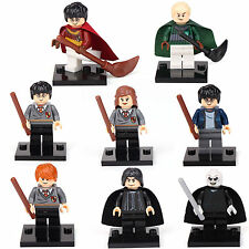Harry Potter Hermione Malfoy Ron Snape Lord 8 Mini figures Building Toys LEGO