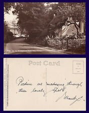 UK HAMPSHIRE BROCKENHURST ROAD E.A. SWEETMAN REAL PHOTO POSTCARD CIRCA 1920