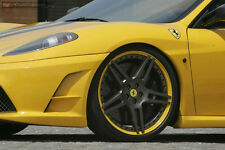 Novitec NF3 Custom Painted Wheels with Tires - Ferrari F430 and 360 Modena