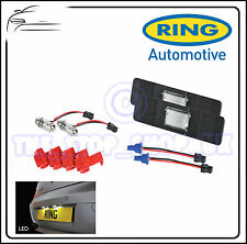 Ring Car LED Number Plate Light Lamp Universal Set  ICE White BRL0403
