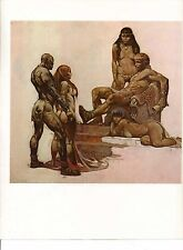 "1978 Full Color Plate ""Rogue Roman"" by Frank Frazetta Fantastic GGA"