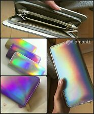 US STOCK - Holographic Wallet - NEW - Silver* Gold* Purple*