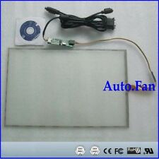"""15inch 322x247mm 5Wire Resistive Touch Screen Panel USB kit for 15"""" monitor"""