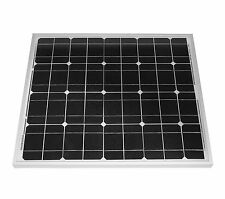 50 W Solar Panel Pellet boiler Solar cell 50 Watt mono NEW TÜV Certified