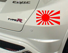 Rising Sun Sticker JDM JAP Civic Honda Toyota Nissan Modified Mitzy 4x4 Type R