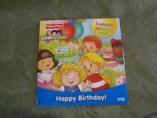 Fisher Price happy birthday little people dvd movie music 5 episodes sing song