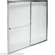 """Bath Tub & Shower By-Pass Sliding Doors & Frame 44 1/2"""" - 46 1/2"""" Wide New"""